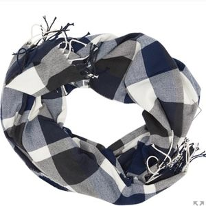 PLUSH plaid ultra soft scarf